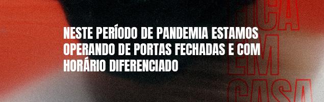 Horário de atendimento - Pandemia 1